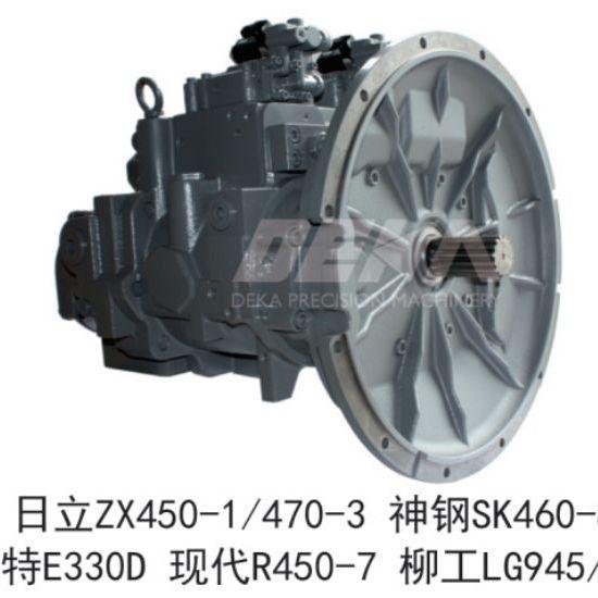 DEKA液压泵适用于日立 神钢SK460-8卡特E330D现代R450-7柳工LG945 948挖机