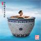 和天下陶瓷泡澡缸一米二日式温泉洗浴大缸壶风吕圆形净身洗澡大缸