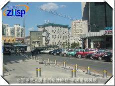 北京翠微大厦全自动升降柱