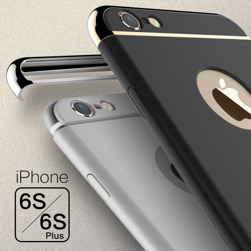 粉鹤新款手机壳苹果iphone6s磨砂保护套6plus手机壳全包手机壳测温仪手持希玛图片
