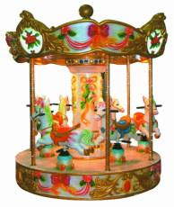儿童转椅 游艺设施转椅 儿童旋转木马 户外大型玩具旋转木马