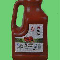 """""""辣倒神""""2.5kg纯辣椒酱大瓶装 无任何添加剂 高辣度 绿色食品"""