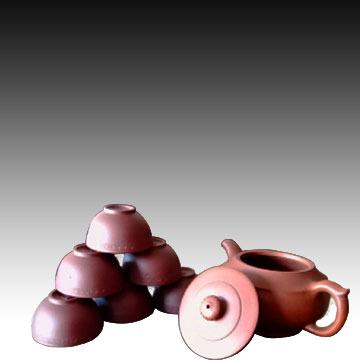 喀左紫砂紫砂壶  品名:紫砂套壶