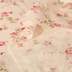 供应印花活性纯棉布斜纹布料