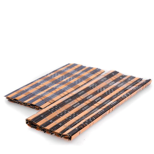 厂家直销茶垫茶席手工竹制茶席茶垫材料手工编织功夫茶具茶道配件