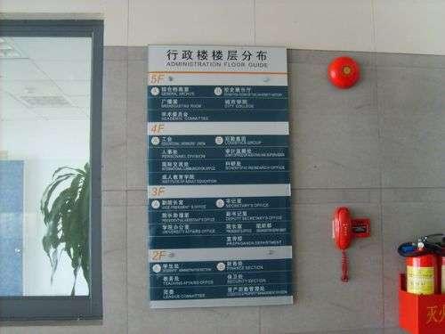 专业制作医院标牌,标识,导向标识牌——河北金世纪标识图片