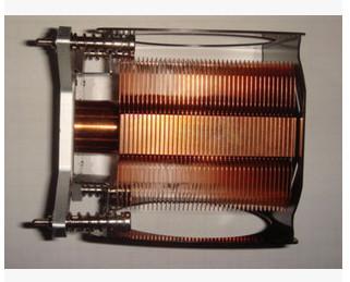 供应led焊接导热铜鳍片配件