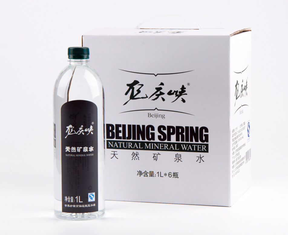 供应 龙庆峡矿泉水1lX6瓶天然水弱碱性矿泉水包邮整箱