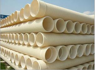 厂家直销统塑PVC双壁波纹管/PVC波纹管价格