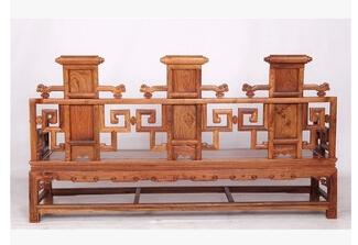 供应木之韵 仿古家具实木沙发组合宫廷山水沙发八件套