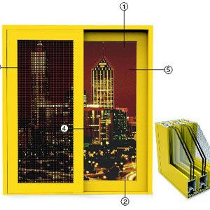 供应 铝门窗安义定制加工