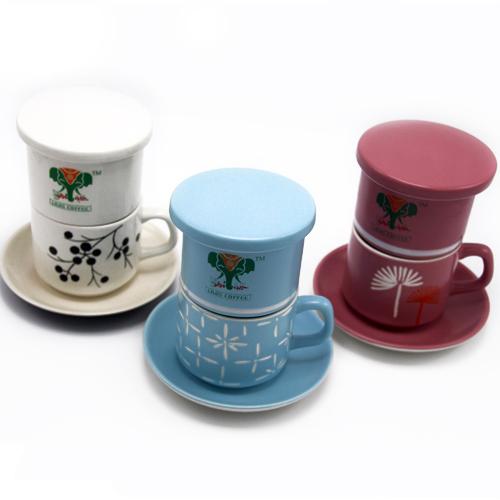 咖啡杯 咖啡滤杯 咖啡手冲杯 陶瓷咖啡滴漏壶