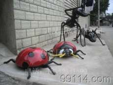 仿真昆虫雕塑、仿真蚂蚁