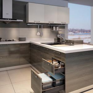 供应  厨房厨柜 整体厨房整体橱柜定做