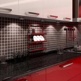 供应 整体橱柜厨房定做亚克力厨柜定制