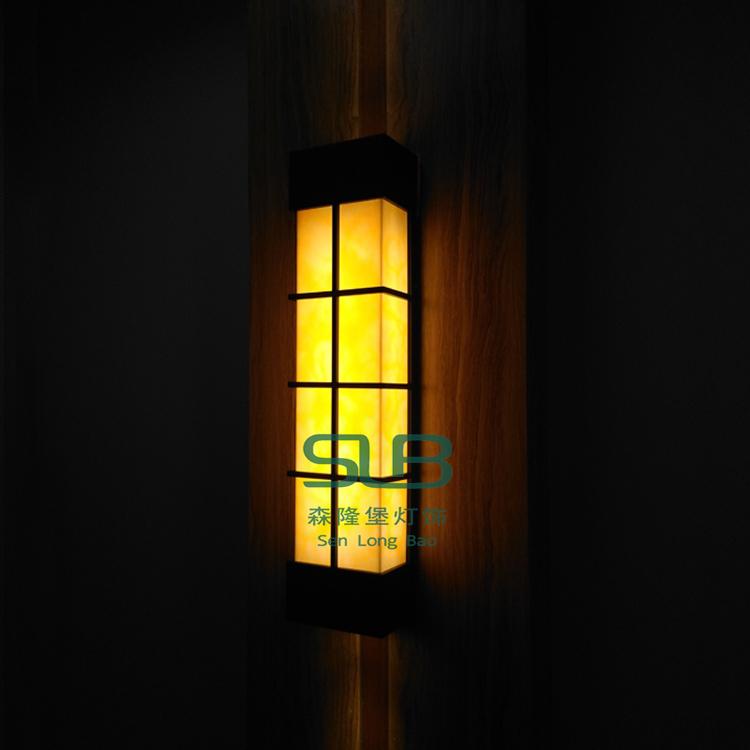 现代壁灯仿云石简约壁灯户外工程壁灯酒店照明壁灯