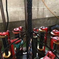 厂家直销  吊兰专用安全绳 涤纶全编安全绳 高空作业绳量大从优