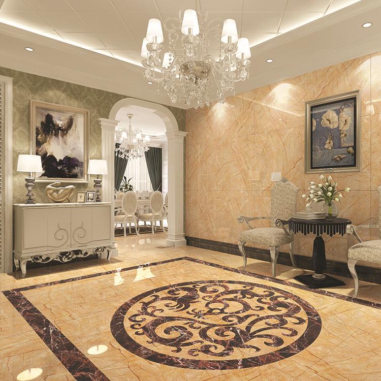 佛山瓷砖 中式现代耐磨地砖磁砖 大理石亮光室内800x800地面砖图片