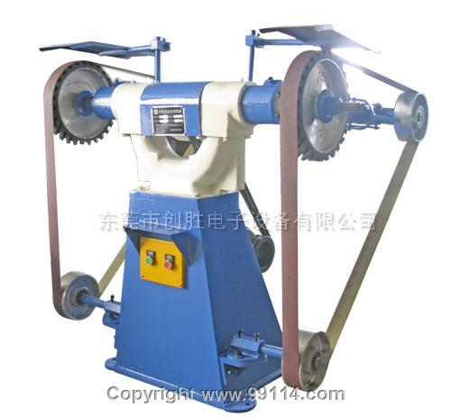 16双工位砂带打磨机