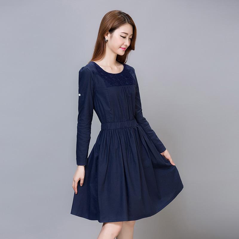 连衣裙中长款