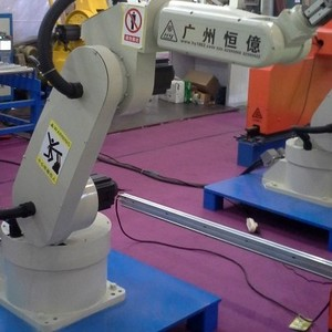 上下料机器人 机器人厂家  机器人设备 长仁上下料工业机器人