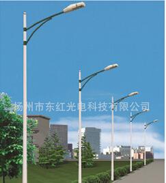 颖豪 太阳能路灯 5米20W14小时太阳能路灯 LED路灯 照明时间长