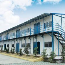 河北唐山厂家直销低价岩棉复合板彩钢房 保暖防火彩钢曹妃甸活动房