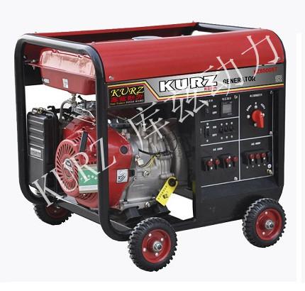 5KW单三相汽油发电机,单相、三相用电,一机掌控