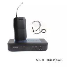 Shure  舒尔 BLX14 PGA31 一拖一无线头戴麦克风 耳挂式话筒