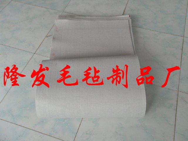 羊毛缓冲垫,热压机专用羊毛毡缓冲垫,热压机毛毡板