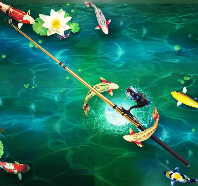 厂家直销批发冰钓竿筏竿1.3米1.6米1.8米2.1米筏杆 阀杆竿 钓鱼
