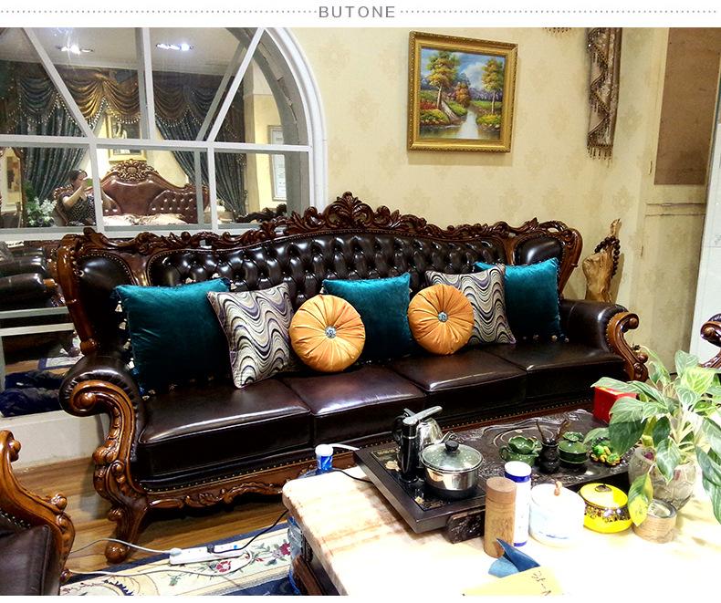 大款欧式沙发抱枕配套4图片