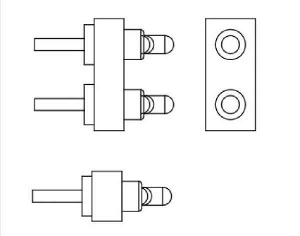 标准PogoPin电线连接器
