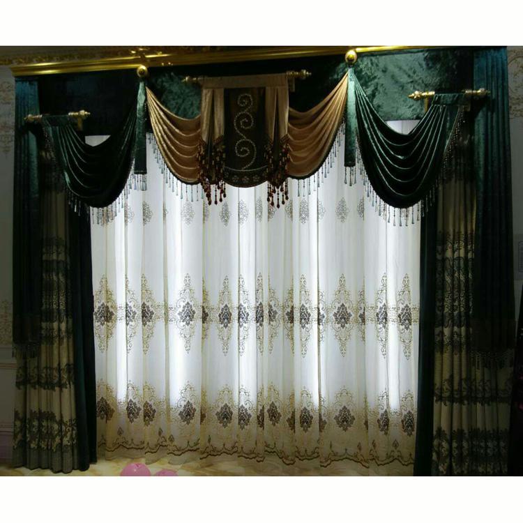 艾菲幔窗帘布艺新古典窗帘1