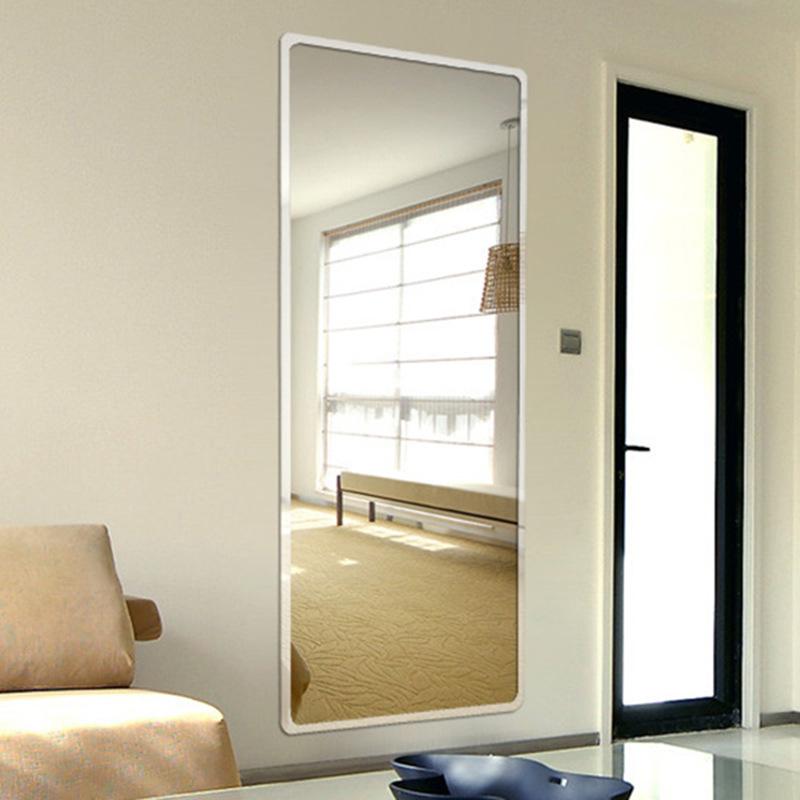 简约欧式全身镜浴室镜酒店化妆镜服装试衣镜挂墙镜更衣镜落地镜