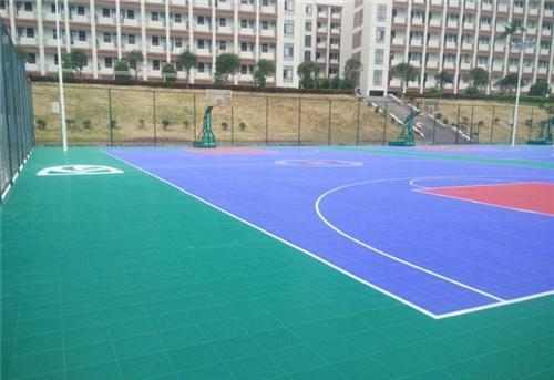篮球场拼装地板 绿城体育