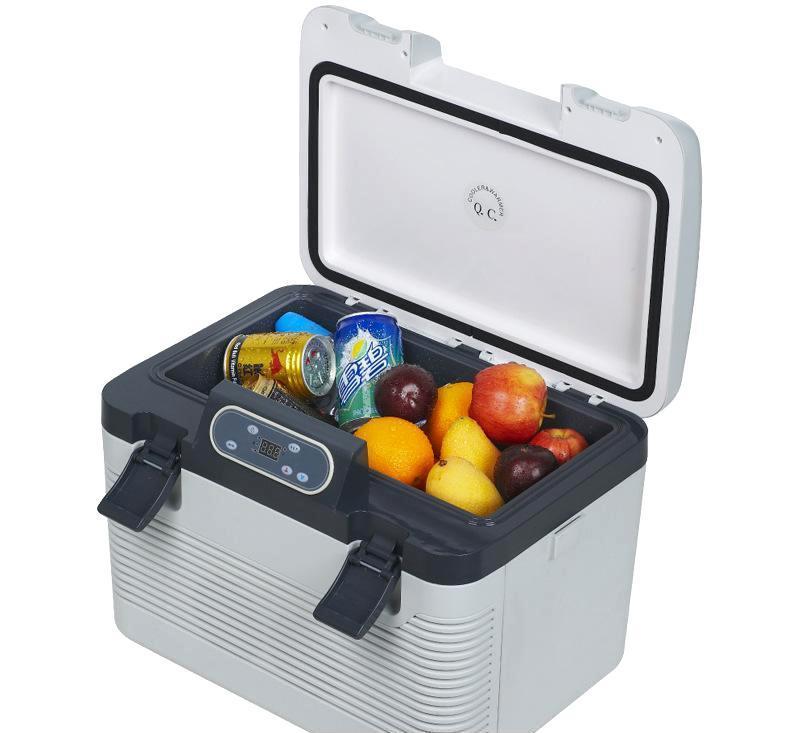 贝拉19l双制冷车载冰箱 冷暖型电子冰箱 胰岛素冰箱 厂家直销