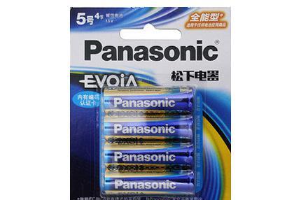松下Evoia五号电池LR6EEC 2B 原装正品