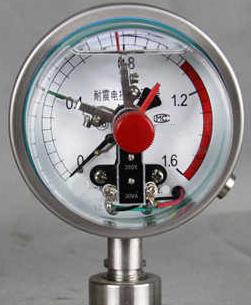 抗震电接点压力表