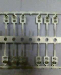 端子广告连续电镀铜料镀亮锡五金实验36-48盐雾不折叠2小时生锈扇图片