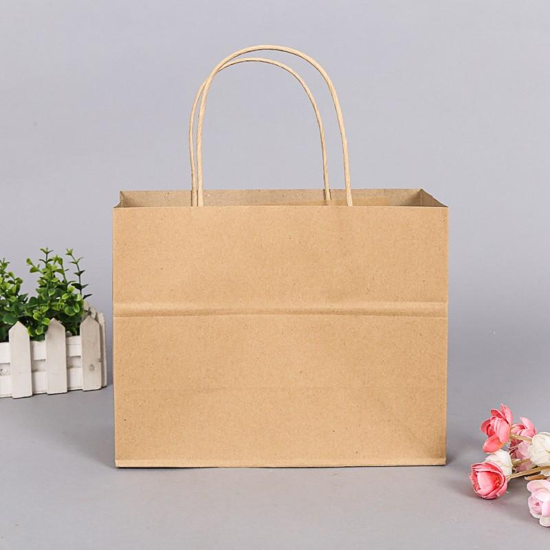 跨海来样定制直销环保服装手提包装袋定制纸质礼品纸袋图片