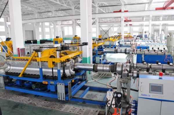 PP双壁波纹管设备厂家直供