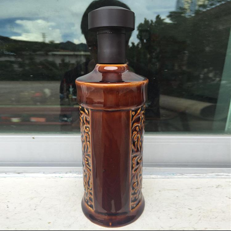 供应 高档时尚美观1斤通用瓶 优质环保三方口盖勾连瓶大量批发
