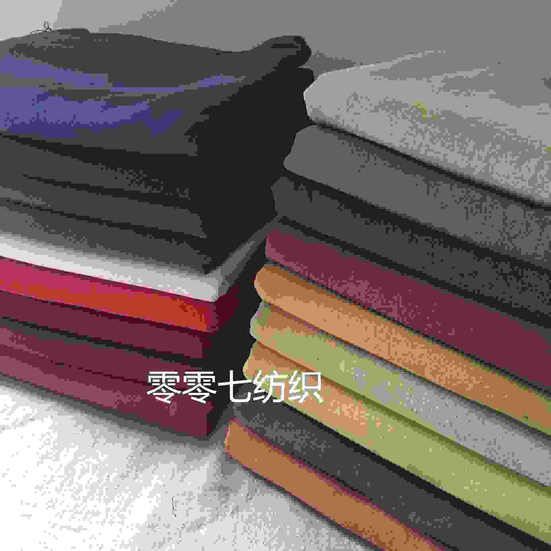 素色砂洗棉麻皱布料 纯色棉麻绉布 肌理纹亚麻服装面料水洗麻布料
