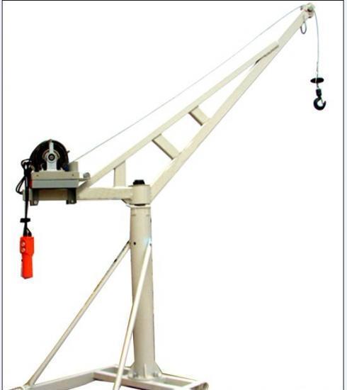 天津小型吊运机 小吊机 直滑式吊运机 装修吊运机图片