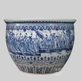 园林陶瓷缸 (YS-4542)