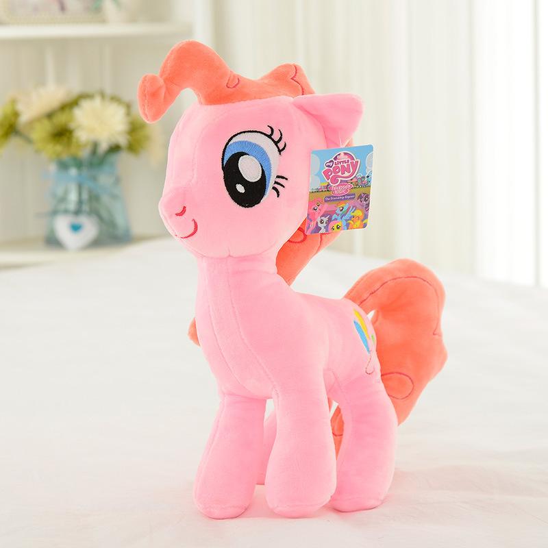 my little pony彩虹马 小马宝莉全套 动漫公仔 创意毛绒玩具图片