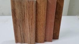 创美门套线条 实木涂装 平面 斜面 单波 双波 转印 包覆 木皮 橡木门套线 2200※70※12