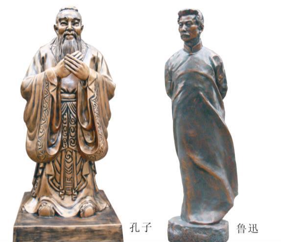 供應玻璃鋼孔子雕塑 人物雕塑