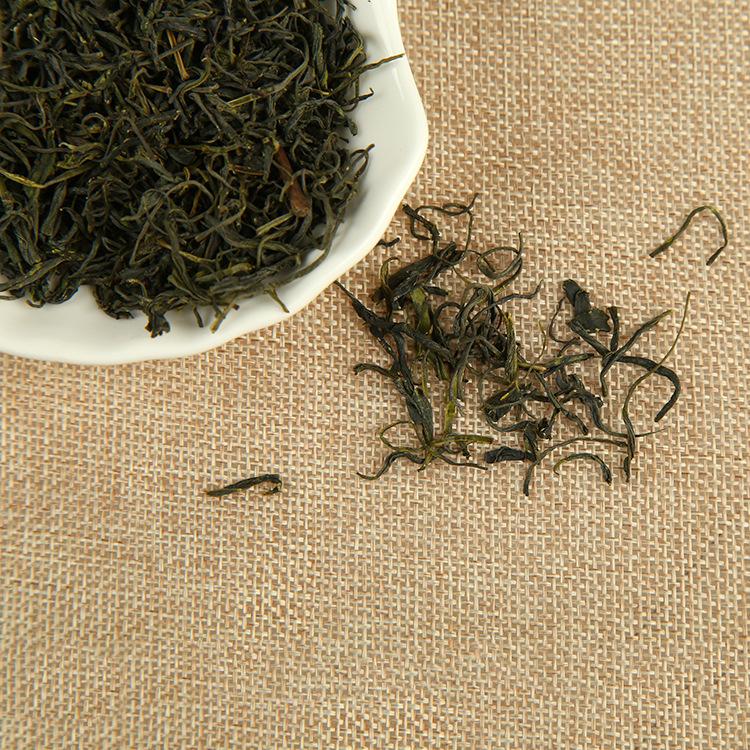 湖北宜昌特产碧峰茶 天苑馨香优质绿茶茶叶香气十足 散装一斤.